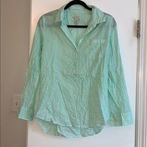 3/4 button shirt